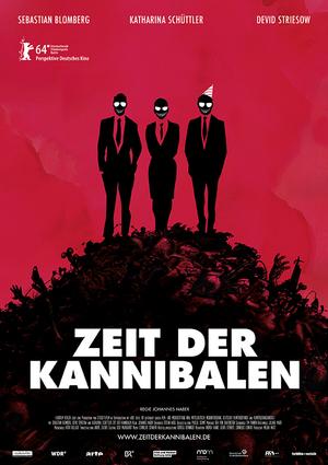 Filmplakat Zeit der Kannibalen